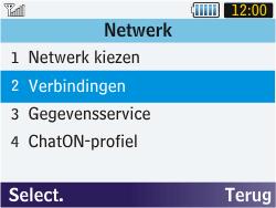 Samsung S3570 Chat 357 - Internet - handmatig instellen - Stap 5