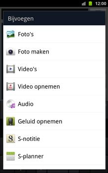 Samsung N7000 Galaxy Note - MMS - Afbeeldingen verzenden - Stap 8