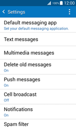 Samsung G388F Galaxy Xcover 3 - SMS - Manual configuration - Step 6