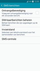 Samsung A300FU Galaxy A3 - SMS - handmatig instellen - Stap 7