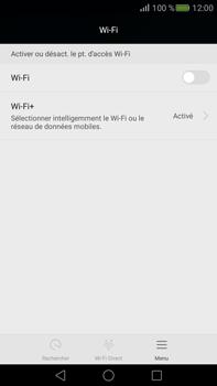 Huawei Mate S - Wifi - configuration manuelle - Étape 3