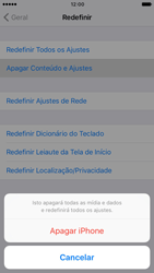 Apple iPhone iOS 10 - Funções básicas - Como restaurar as configurações originais do seu aparelho - Etapa 8