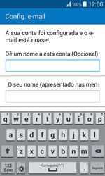 Samsung Galaxy Core II - Email - Adicionar conta de email -  9