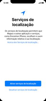 Apple iPhone X - Primeiros passos - Como ligar o telemóvel pela primeira vez -  20