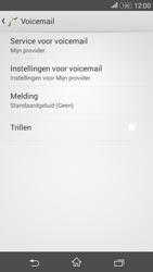 Sony Xperia E4g (E2003) - Voicemail - Handmatig instellen - Stap 6
