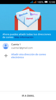Alcatel Pop C9 - E-mail - Configurar Gmail - Paso 14