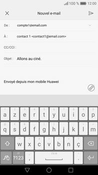 Huawei Mate 8 - E-mail - Envoi d