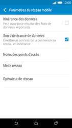 HTC Desire 610 - Aller plus loin - Désactiver les données à l'étranger - Étape 6