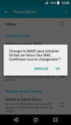 Acer Liquid Z320 - SMS - configuration manuelle - Étape 8