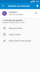 Motorola Moto C Plus - Chamadas - Bloquear chamadas de um número -  6