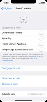 Apple iPhone X - Sécuriser votre mobile - Activer le code de verrouillage - Étape 8