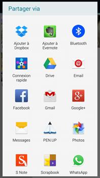 Samsung Galaxy Note 4 - Photos, vidéos, musique - Envoyer une photo via Bluetooth - Étape 12