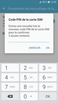 Samsung Samsung Galaxy J7 (2016) - Sécuriser votre mobile - Personnaliser le code PIN de votre carte SIM - Étape 10