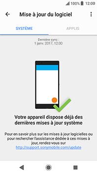 Sony Xperia XA2 Ultra - Aller plus loin - Mettre à jour le logiciel interne de votre mobile - Étape 7