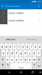 HTC One M9 (Model 0PJA100) - Contacten en data - Contacten kopiëren van SIM naar toestel - Stap 8