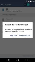 LG H525N G4c - WiFi et Bluetooth - Jumeler votre téléphone avec un accessoire bluetooth - Étape 7