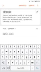 Samsung Galaxy S7 - Android Nougat - E-mail - Escribir y enviar un correo electrónico - Paso 10