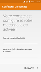 Crosscall Trekker M1 Core - E-mail - Configuration manuelle - Étape 20
