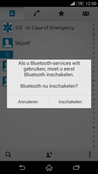 Sony D5803 Xperia Z3 Compact - Contactgegevens overzetten - delen via Bluetooth - Stap 10