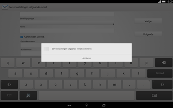 Sony Xperia Tablet Z2 (SGP521) - E-mail - e-mail instellen: POP3 - Stap 15