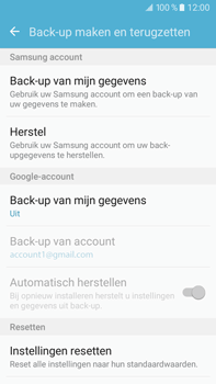 Samsung Galaxy J7 (2016) (J710) - Device maintenance - Back up - Stap 7