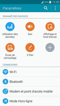Samsung Galaxy Note 4 - Internet et connexion - Utiliser le mode modem par USB - Étape 4