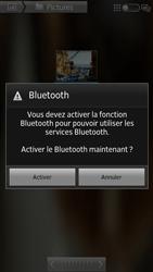 Sony Xpéria S - Photos, vidéos, musique - Envoyer une photo via Bluetooth - Étape 10