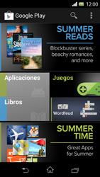 Sony Xperia L - Aplicaciones - Tienda de aplicaciones - Paso 24