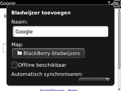 BlackBerry 9300 Curve 3G - Internet - Internetten - Stap 6