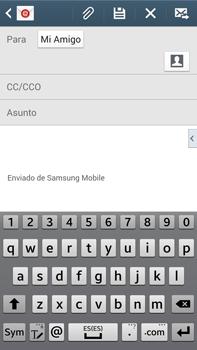 Samsung Galaxy Note 3 - E-mail - Escribir y enviar un correo electrónico - Paso 8