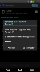 LG D955 G Flex - Bluetooth - connexion Bluetooth - Étape 10
