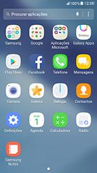 Samsung Galaxy A5 (2017) - SMS - Como configurar o centro de mensagens -  3