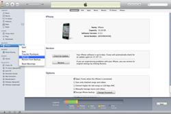 Apple iPhone 4S - Software - Back-up maken of terugplaatsen - Stap 3