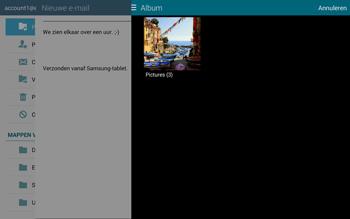 Samsung Galaxy Tab S 10.5 4G (SM-T805) - E-mail - Hoe te versturen - Stap 14