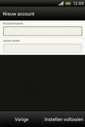 HTC A320e Desire C - E-mail - Handmatig instellen - Stap 16