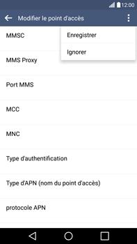 LG H815 G4 - Internet - Configuration manuelle - Étape 16