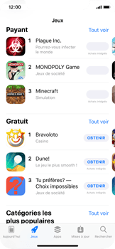Apple iPhone X - Applications - Télécharger des applications - Étape 5