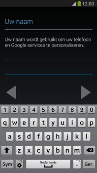 Samsung N9005 Galaxy Note III LTE - Applicaties - Account aanmaken - Stap 6