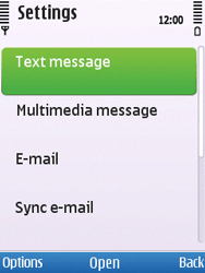 Nokia C5-00 - SMS - Manual configuration - Step 5