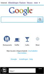Nokia Lumia 800 - Internet - Internet gebruiken - Stap 9