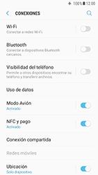 Samsung Galaxy S6 - Android Nougat - Funciones básicas - Activar o desactivar el modo avión - Paso 6