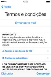 Apple iPhone 4S iOS 8 - Primeiros passos - Como ligar o telemóvel pela primeira vez -  16