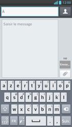 LG Optimus F5 - Contact, Appels, SMS/MMS - Envoyer un SMS - Étape 5