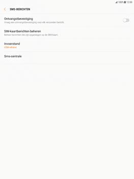 Samsung Galaxy Tab S2 9.7 - Android Nougat - SMS - Handmatig instellen - Stap 8