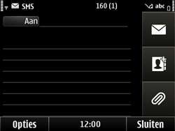 Nokia E6-00 - MMS - Afbeeldingen verzenden - Stap 4