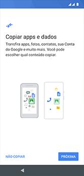 Motorola Moto G7 - Primeiros passos - Como ativar seu aparelho - Etapa 10