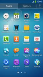 Samsung Galaxy S4 - Internet et connexion - Désactiver la connexion Internet - Étape 3