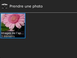 BlackBerry 9720 - Photos, vidéos, musique - Envoyer une photo via Bluetooth - Étape 5