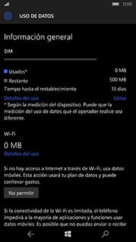 Microsoft Lumia 950 XL - Internet - Ver uso de datos - Paso 16