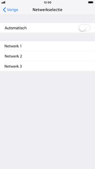 Apple iPhone 8 Plus - iOS 12 - Netwerk selecteren - Handmatig een netwerk selecteren - Stap 7